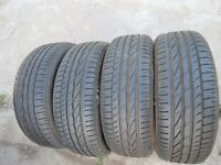 4 x 195/55 R16 87V Sommerreifen Bridgestone Turanza ER300  Neuwertig 7mm
