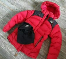THE NORTH FACE SUMMIT SERIES arctic parka jacket  800 FILL GOOSE DOWN +FACE MASK