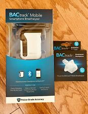 New In Box Bactrack Mobile Smartphone Breathalyzer & 10 Extra Mouthpieces