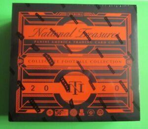 2020 Panini National Treasures Collegiate Football Hobby Sealed Box