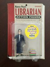 2003 Accoutrements Nancy Pearl Librarian Action Figure #11247, Brand New