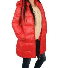 Juicy Couture New Nwt! Candy Red Puffer Jacket, sz Medium, Water Repellent