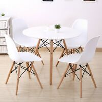 5 Piece Dining Set Table And 4 Chairs Home Kitchen Room Breakfast Furniture New