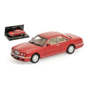 1/43 MINICHAMPS Bentley Continental 1996 Red New IN Box Free Shipping Home