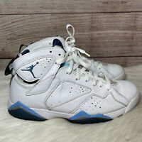 Men's Nike Air Jordan 7 VII Retro French Blue White Blue Size 10.5 304775-107