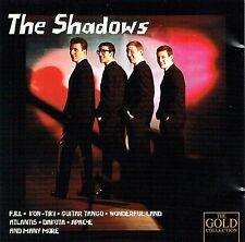 (CD) The Shadows - The Gold Collection - Kon - Tiki, Apache, Wonderful Land