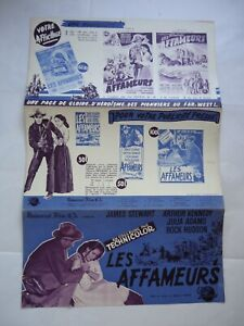 WESTERN/JAMES STEWART/BEND OF THE RIVER/ UP23/  french pressbook