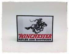 Winchester Patch Sew Iron On Embroidered Rifles Badge Gun Hunters Weapons Pistol