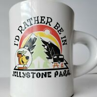 Vintage Yogi Bear Jellystone Park Coffee Mug Hanna Barbera Coffee Cup
