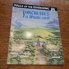 ICE MERP 1st Ed Fortresses of Middle-Earth - Halls of the Elven-King VG