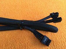 LOT 2 pcs  EVGA SuperNOVA 750-1600 G2 G3 8 PIN TO 8 pin CPU Power Supply Cable