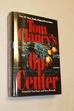 SIGNED Op-Center by Tom Clancy. RARE! Near Fine (1995 Hardcover)