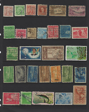 VINTAGE CARIBBEAN HAVANA HABANA USED 57 STAMPS COLLECTION FREE USA SHIPPING