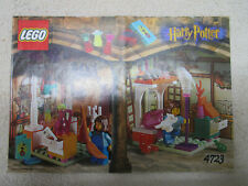 Lego Harry Potter INSTRUCTION BOOK, FOR SET 4723 DIAGON ALLEY SHOPS VERY NICE
