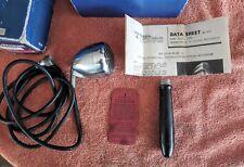 Vintage 1939 Shure Deco Bullet Microphone w/ Box, Handle & Data Sheet....Look!