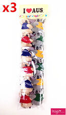 36x I Love Australia Assorted Color Boomerang Koala Clip On Souvenir Gift A662x3