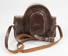 Leica Ef600 Iiic Leather Case W/Strap Steampunk Cosplay