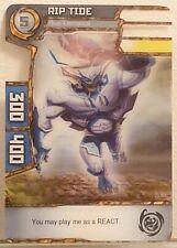 REDAKAI CARD N°5 RIPTIDE BLUE ELEMENTAL.