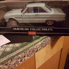 SUNSTAR  1/18ème   FORD FALCON  HARD TOP - 1963 de couleur   bleu/ vert