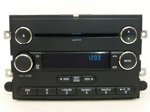 2010 & UP FORD F-250 F-350 SUPER DUTY SAT. Radio SINGLE CD DISC MP3 Player OEM