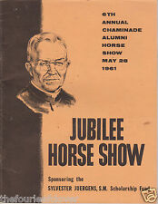 Jubilee Horse Show 1961 Chaminade Alumni Program 6th Annual St Louis MO Rare
