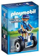 Playmobil 6877 Mujer policia con balance racer Police segway City Action