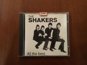 The Shakers - All The Best CD Beatles,beat, Garage Cult ..!!!!!