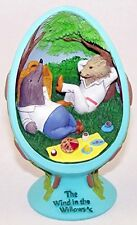 Collectible Limited Ed. Wind in the Willows Easter Egg 3-D, River Bank Cvs Nib