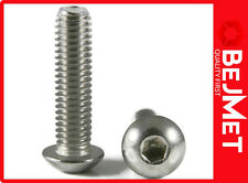 M5x12 ISO 7380 A2 STAINLESS STEEL SOCKET BUTTON HEAD ALLEN KEY SCREW BOLT 50-PCS