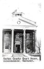 A46/ Independence Kentucky Ky Photo RPPC Postcard Kenton County Court House c'50