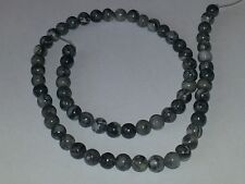 6MM Natural Ocean Jasper Gemstone Round Spacer Loose Beads About 66pcs. NEW