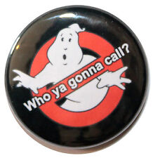 """1"""" (25mm) Ghostbusters 1984 Classic Movie Button Badge Pin - High Quality"""