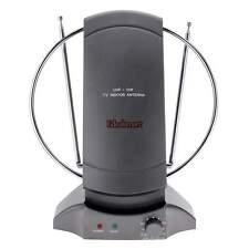 36dBi Digital HD TV indoor Amplified Antenna UHF VHF FM US Plug w/ 3' RG6 Cable