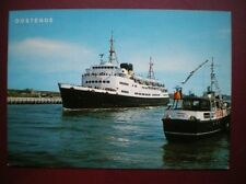 POSTCARD FERRIES OOSTENDE - DOVER FERRY LINGE MARITIME