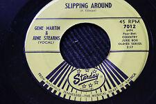 GENE MARTIN & JUNE STERNS b/w WILLIS BROTHERS & HELEN CARTER 45rpm Starday