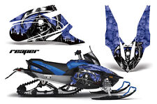 YAMAHA APEX GRAPHIC STICKER KIT AMR RACING SNOWMOBILE SLED WRAP DECAL REAPER BL