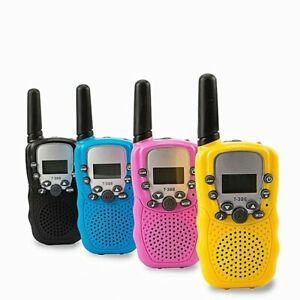Walkie Talkies Toy Two Way Radio UHF Long Range Handheld Transceiver Child Toys