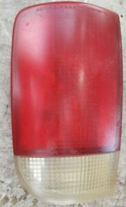 95-05 Chevy Blazer Driver Left Tail Light