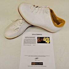 Converse Sample 3hree White Leather 14 DWAYNE WADE Personal Owned Shoes COA #12