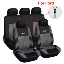 Universal Car Seat Cover Polyester Seat Covers Fit for Ford Escape Fiesta Edge