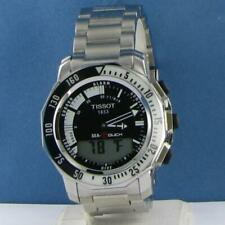Tissot Sea Touch Analog-Digital Black Dial Steel Watch T0264201105100