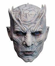 Officiellement sous licence game of thrones night's king latex complet overhead masque