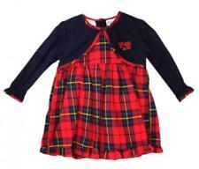 Robes à longueur de manches manches longues, en 100% coton, 12 ans pour fille de 2 à 16 ans