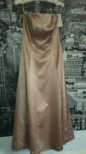 Vestidos de niña de 2 a 16 años de color principal rosa de satén