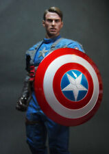 1/6 Scale Soldier Accessories Movie Character Captain America Use Shield 3 Color