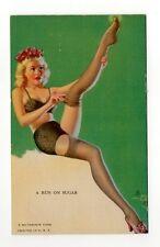 1945 Mutoscope Artist Pin Ups Arcade Card #MS16 A Run on Sugar Zoe Mozert