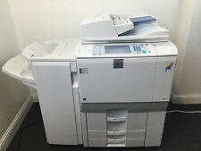Lanier LD365c Color Copier Printer Scanner Network & Finisher Aficio MP C6501SP