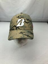 Bridgestone Golf Digital Camo Green Hat Snapback L/XL