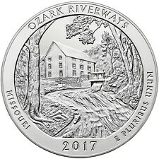 2017 PDS Ozark Riverways ATB Quarters 3-coin set from mint rolls