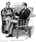 1800-1899 Vintage artwork Sherlock Holmes drawn by Sidney Paget